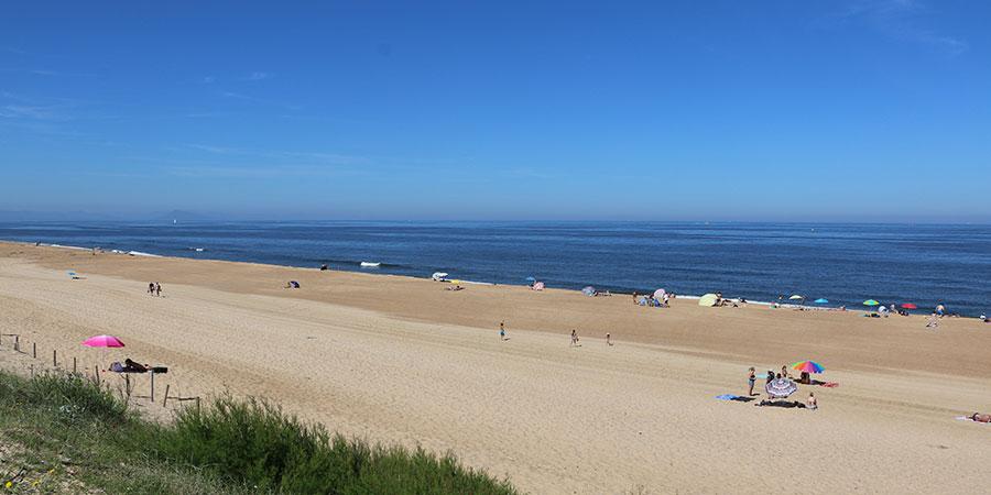 Ondres, Landes, la plage