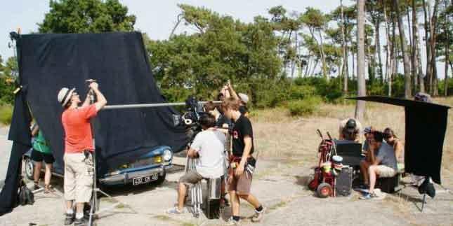 actualité Ondres tournage film