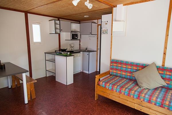 Hébergement Chalet 4/6 pers. - camping Blue Océan
