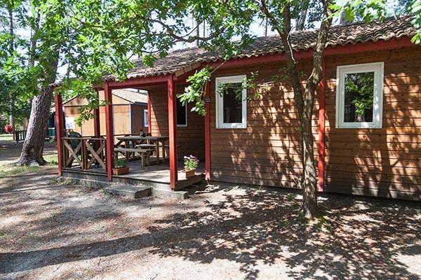 Hébergement 5-7 person chalet - camping Blue Océan