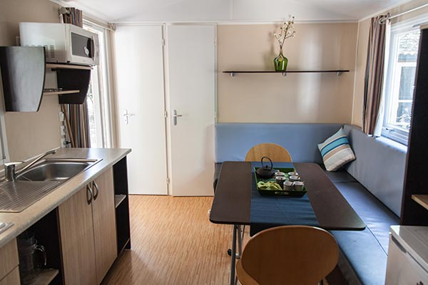 Hébergement Mobil-home 4 pers. - camping Blue Océan