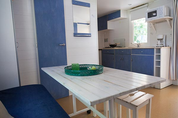 Hébergement Mobil-home 4/6 pers. - camping Blue Océan