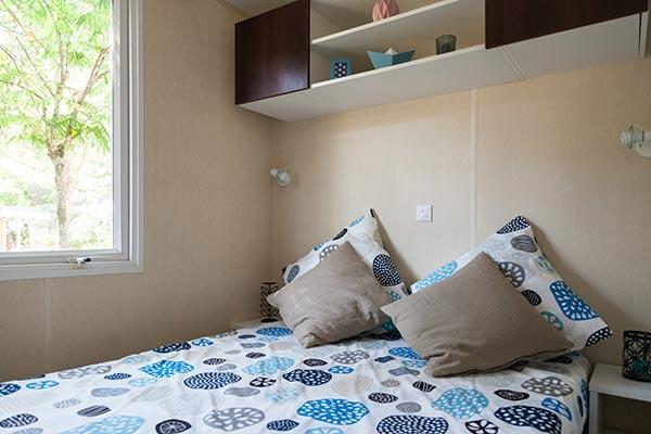 Hébergement Mobilheim 6 bis 8 Personen - camping Blue Océan