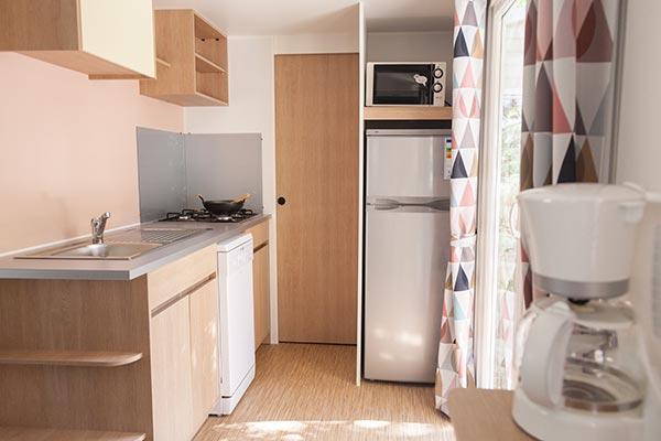 Hébergement Mobil-home confort 4/6 pers. - camping Blue Océan