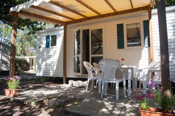 Hébergement Mobil-home 4/6 persons - camping Blue Océan