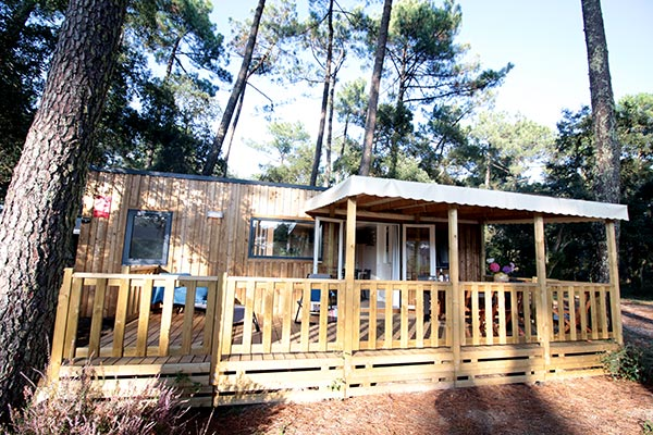 Hébergement Cottage Grand Cosy - camping Blue Océan