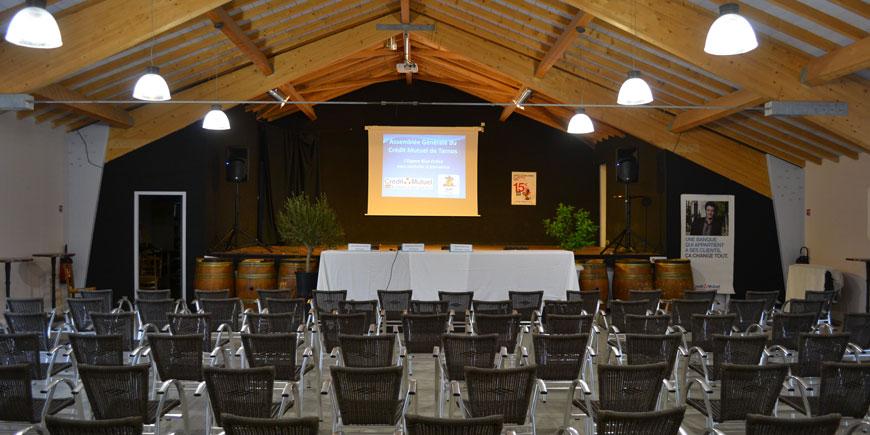Seminars and Weddings - camping Blue Océan