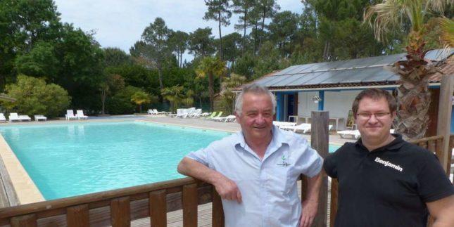 gérant et directeur du camping espace blue océan  à ondres