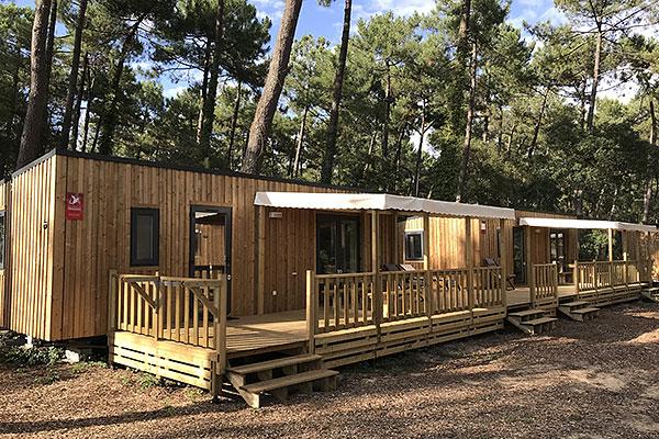 Hébergement Premium Tribu - camping Blue Océan