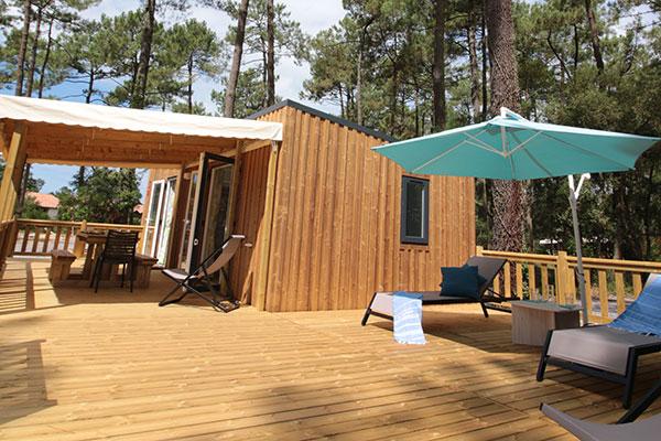 Hébergement Premium Super Cosy 8/12  mensen - camping Blue Océan
