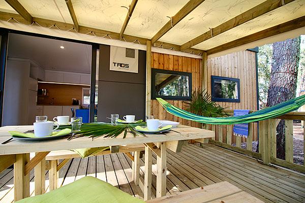 Hébergement Cottage Premium Taos - camping Blue Océan