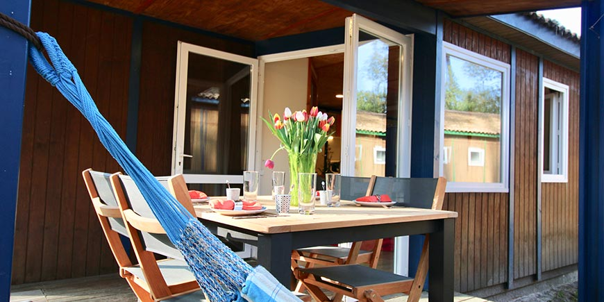 Camping Blue Océan Ondres - mobil-home 4/6 personen
