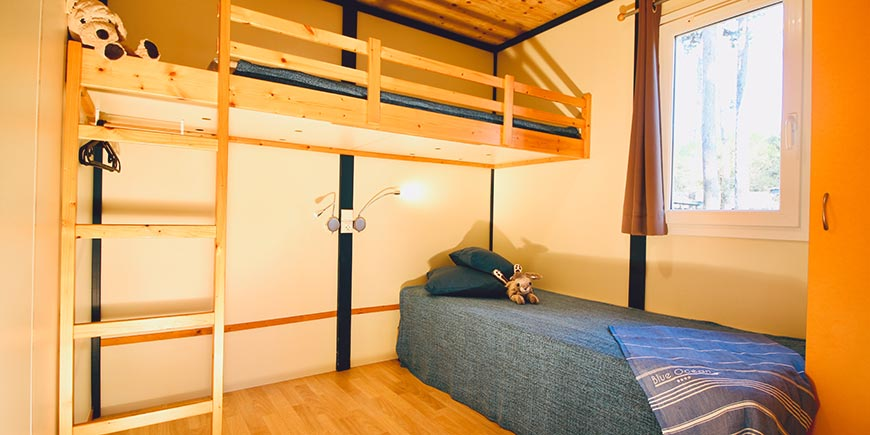 Camping Blue Océan Ondres - mobil-home 4/6 personnes