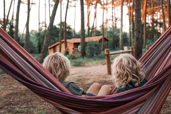 Capbreton camping sous les pins